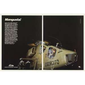 1986 Agusta A129 Mangusta Anti Tank Helicopter 2 Page