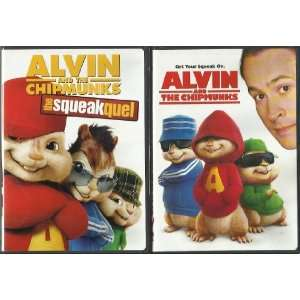 ALVIN AND THE CHIPMUNKS DOUBLE FEATURE DVD SET!: JASON LEE