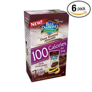 100 Calorie Packs Oven Roasted Dark Chocolate, 4.4 Ounce Boxes (Pack