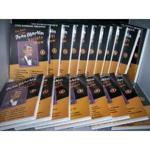 BEST OF The DEAN MARTIN VARIETY SHOW 19 DVD Set. Volumes 1 through 18
