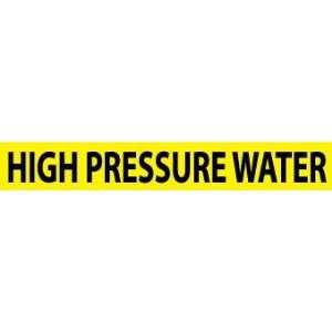 , HIGH PRESSURE WATER, 1X9, 1/2 LETTER, PS VINYL