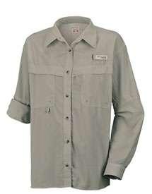 Columbia Womens Omni Dry Eddyline Long Sleeve Shirt Plus