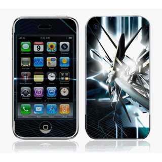 iPhone 3G Skin Decal Sticker   Abstract Tech City~