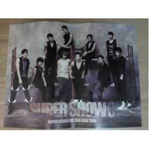Poster super Junior   3rd Asia Tour Poster Everything