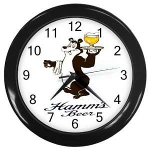 Hamms Beer Logo New Wall Clock Size 10 Free Shipping