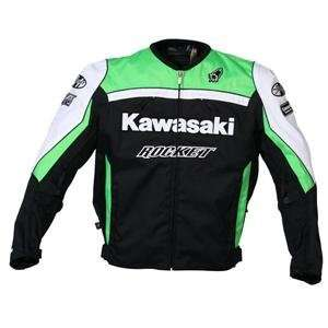 Joe Rocket Kawasaki Replica Supersport Jacket   2009   4X Large/Green