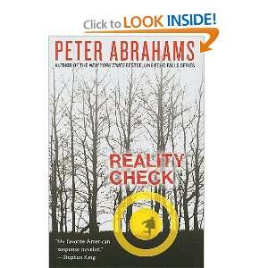 Check (Laura Geringer Books) (9780061227677): Peter Abrahams: Books