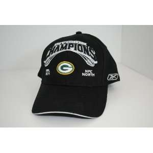 Green Bay Packers NFL Reebok 2011 NFC North Division Champions Black