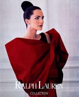 Ralph Lauren Saffron Aldridge Bruce Weber magazine ad