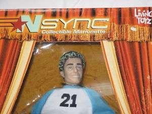 NSYNC Marionette JUSTIN TIMBERLAKE Doll BNIB