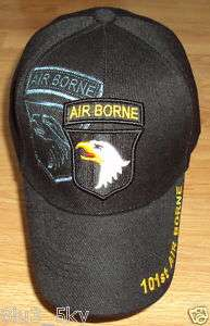 ARMY SCREAMING EAGLES 101ST AIRBORNE BALL CAP HAT