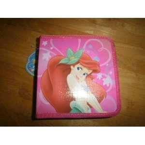 Disney the Little Mermaid Cd Case Rose