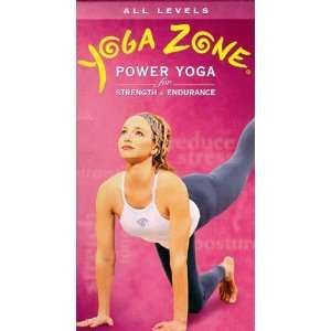 Yoga Zone Power Yoga for Strength & Endurance [VHS] Yoga