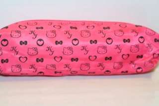 KT008 AUTHENTIC NEW JAPAN SANRIO HELLO KITTY DARK PINK PENCIL CASE