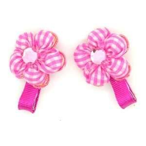/ Toddler /Girl Flower Shaped Mini Hair Clip (4086 3) Toys & Games
