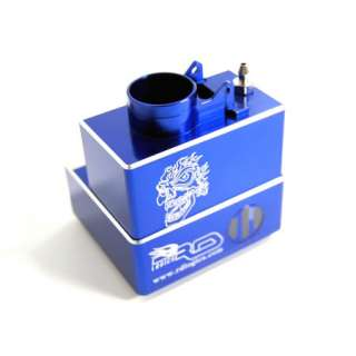 RD Logics TMX075IIB ALUM FUEL TANK BLUE T MAXX 2.5R/3.3