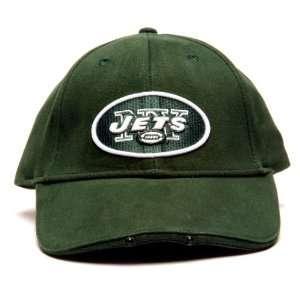 NFL New York Jets LED Flashlight Adjustable Hat Sports