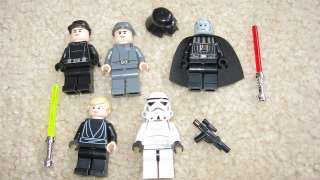 LEGO Star Wars Darth Vader Figures From Set 10212 Imperial Shuttle 5