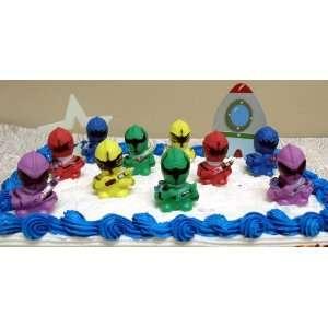 Ranger, Green Ranger, Purple Ranger, Yellow Ranger, Blue Ranger, A