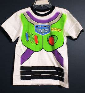 New Disney Store BUZZ LIGHTYEAR Costume T Shirt S 5/6