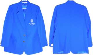 Zeta Phi Beta Shield Crest 2 Button Ladies Blazer Jacket