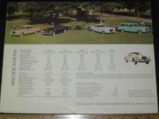 1959 Studebaker Lark and Silver Hawk Sales Brochure