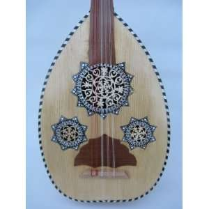 Oud Egyptian Arabic Music Lute Soft Case & String: Musical