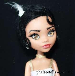 OOAK repaint/custom Monster High CLAWDEEN Jazz Age fairy tale