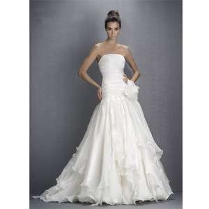 Custom made Amazing Wedding/prom Dress/Gown All Sizes size 6 8 10 12