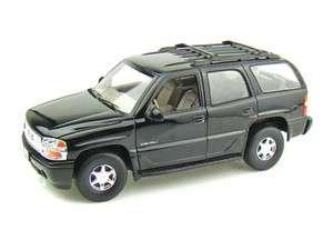 Welly 1/18 GMC Yukon Denali SUV   Blank Black   Police SWAT CSI ???