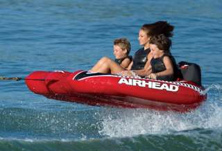 Airhead   Viper 3 Inflatable   3 Person Towable Tube