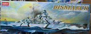 German BattleShip Bismarck 1/350 Academy 1453