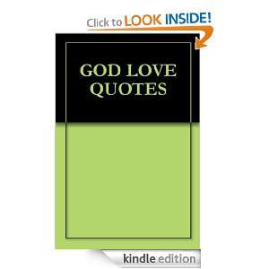 GOD LOVE QUOTES Christopher Reed  Kindle Store