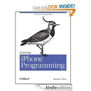 Learning iPhone Programming From Xcode to App Store Alasdair Allan