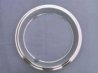 New 14x6 Firebird OEM Style Rally Wheel Trim Rings