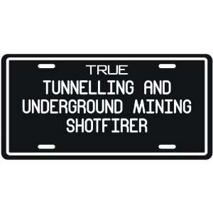 New  True Tunnelling And Underground Mining Shotfirer