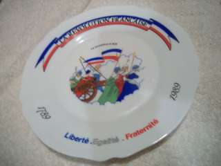 ARCOPAL, France RARE Centennial? Plate 1789 1989 MINT