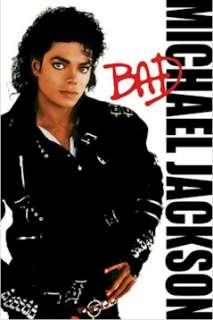 MUSIC POSTER 5 SET ~ MICHAEL JACKSON Bad Thriller LOT