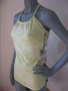 CUTE Green Organic YOGA Athletic Supportive Top M 844874002438