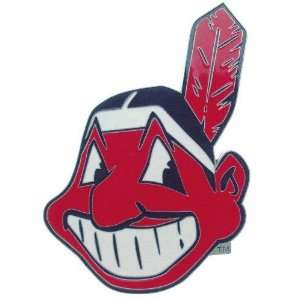 Cleveland Indians Logo Trailer Hitch Cover  Sports