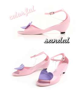★New Womens Melissa Heart Jelly Shoes Open Toe