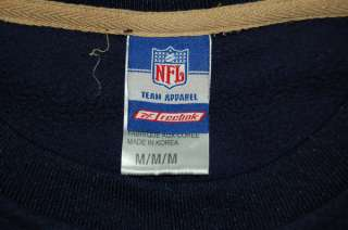 ST. LOUIS RAMS NFL REEBOK FLEECE PULLOVER SWEATER MENS