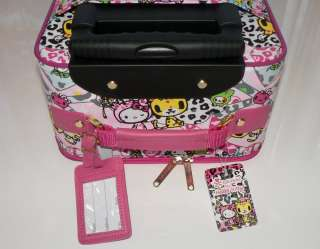 Hello Kitty TOKIDOKI Travel Bag Suitcase Trolley Sanrio wheeled carry