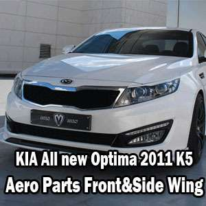 KIA All new Optima 2011 K5 Aero Parts Front Side Wing