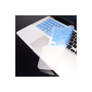 TopCase BLUE Keyboard Silicone Skin Cover with palm rest