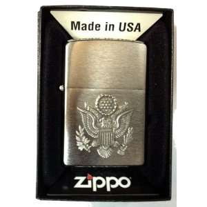 Zippo Custom Lighter   USA American Presidential Military