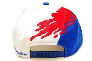Denver Nuggets Paintbrush Snapback Basketball Mitchell & Ness Hat Mens
