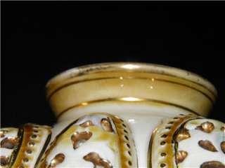 Antique Openwork Zsolnay Vase Marked # 2085