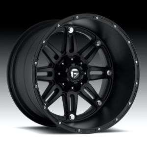 OFFROAD Hostage Wheel SET XD Black 20x14 RIMS CHEVY FORD DODGE Wheels