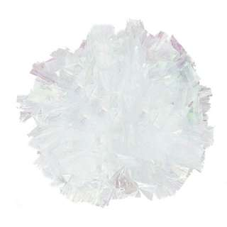 Wedding Car Decoration Just Fluff Metallic / Plastic / Iridescent Poms